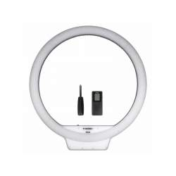 Ring Light - YongNuo YN-308 LED dimmable bi-color LED ring light with remote - 3200K-5500K - buy today in store and with delivery