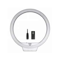 Кольцевая лампа LED - YongNuo YN-308 Светодиодная кольцевая LED BI-COLOR лампа с регулируемой цветовой - купить сегодня в магазине и с доставкой