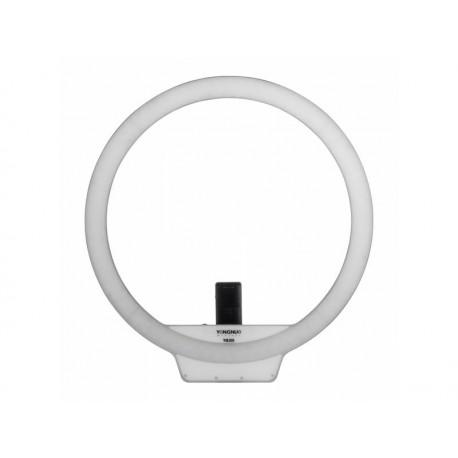 Gredzenveida LED lampas - YongNuo YN-308 LED gredzenveida dimējama bi-color lampa ar pulti - 3200K-5500K - perc šodien veikalā un ar piegādi