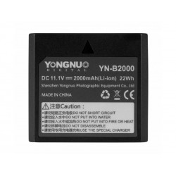 Flash Batteries - Yongnuo YN-B2000 Battery for flash - quick order from manufacturer