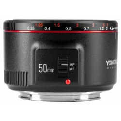 Lenses - Yongnuo YN 50mm f / 1.8 II lens for Canon EF - buy today in store and with delivery