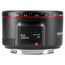 Objektīvi - Yongnuo YN 50mm f / 1.8 II lens for Canon EF - perc šodien veikalā un ar piegādi