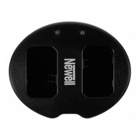 Kameras bateriju lādētāji - Newell SDC-USB two-channel charger for NP-FW50 batteries - perc šodien veikalā un ar piegādi
