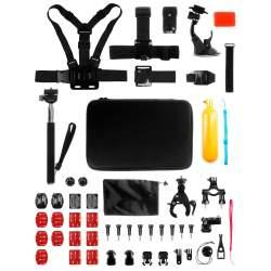 Action kameru aksesuāri - Redleaf Accessory kit Case Set L for action cameras - perc šodien veikalā un ar piegādi