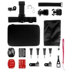 Stiprinājumi action kamerām - Redleaf Accessory kit Case Set S for action cameras - perc šodien veikalā un ar piegādi