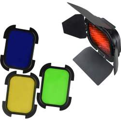 Reflectors - Godox barndoor for AD200 - buy today in store and with delivery