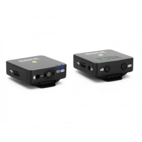 Mikrofoni - RODE Wireless GO Compact Wireless Microphone System - perc šodien veikalā un ar piegādi