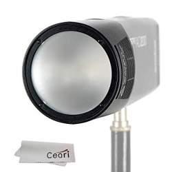 Studijas gaismu aksesuāri - Godox round flash head for AD200 - perc šodien veikalā un ar piegādi