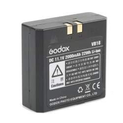 Akumulatori zibspuldzēm - Godox Li-Ion battery VB-18 for V860 V860II - perc šodien veikalā un ar piegādi