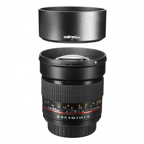 Lenses - Walimex pro 85/1,4 DSLR Sony A black - quick order from manufacturer