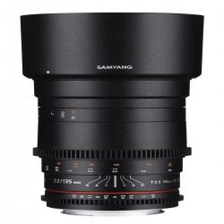 Objektīvi - SAMYANG 135MM T2.2 VDSLR CANON - ātri pasūtīt no ražotāja