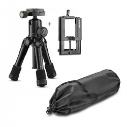 Foto statīvi - Mantona kaleido Mini night black + mountings - ātri pasūtīt no ražotāja