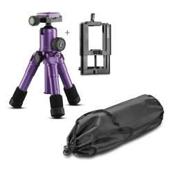 Foto statīvi - Mantona kaleido Mini light purple + mountings - ātri pasūtīt no ražotāja