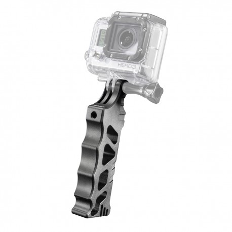 "Action camera mounts - mantona handle Alu ""steady"" for GoPro - quick order from manufacturer"