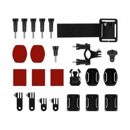 Stiprinājumi action kamerām - Powerbee Extended assembly set - perc šodien veikalā un ar piegādi
