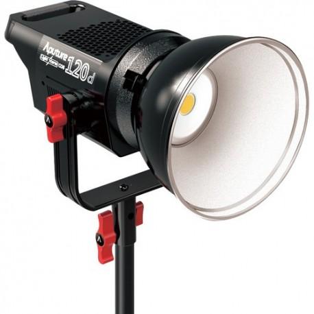 Video gaismas - Aputure COB C120D 120W LED gaisma noma