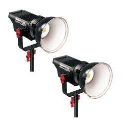 Видео освещение - Aputure COB C120D + C120D двойной комплект LED освещения 240Ват Аренда