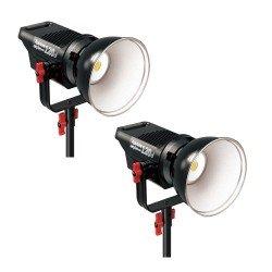 Video lights - Aputure COB C120D + C120D double LED light set 240W rent