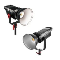 Видео освещение - Aputure COB C120D + C300D I или II серии двойной комплект LED освещения 420Ват Аренда