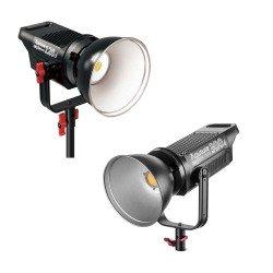 Video gaismas - Aputure COB C120D + C300D I vai II sērijas Divu LED gaismu komplekts 420W Noma