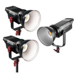 Video gaismas - Aputure COB C120D + C120D + C300D Trīs LED gaismu komplekta 540W Noma