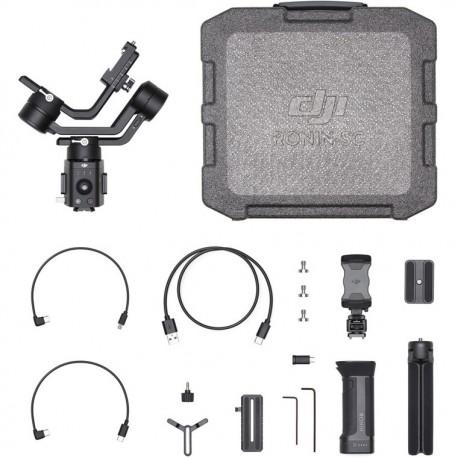 Stabilizatori - DJI Ronin SC Single-Handed Stabilizer for Mirrorless Cameras - perc šodien veikalā un ar piegādi