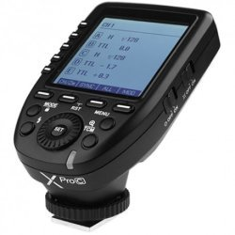 Radio palaidēji - Godox XPro C TTL Wireless Flash Trigger for Canon Cameras - perc šodien veikalā un ar piegādi