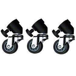 Statīvu aksesuāri - Walimex statīva riteņi / Tripod Wheels Pro 3.gab. Nr 12720 - perc veikalā un ar piegādi