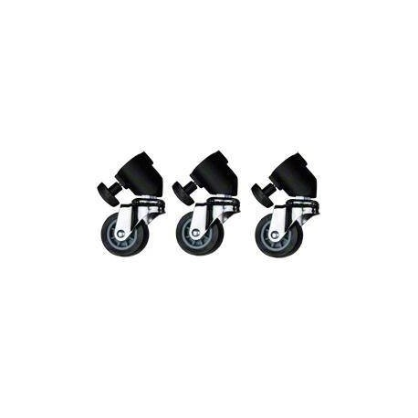 Tripod Accessories - walimex pro Tripod Wheels Pro, set of 3 - buy today in store and with delivery