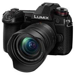 Bezspoguļa kameras - Panasonic DC-G9MEG-K LUMIX G Compact System Camera with LUMIX H-FS12060E - ātri pasūtīt no ražotāja