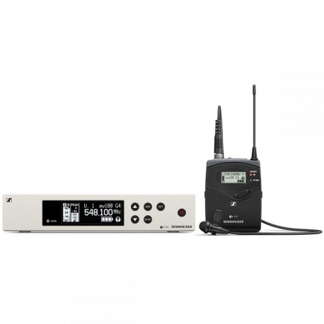 Mikrofoni - Sennheiser ew 100 G4-ME2-A1 Wireless Lavalier Mic Set - ātri pasūtīt no ražotāja