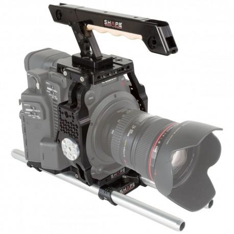 Плечевые упоры / Rig - Shape Canon C200 Cage 15mm LW ROD - быстрый заказ от производителя
