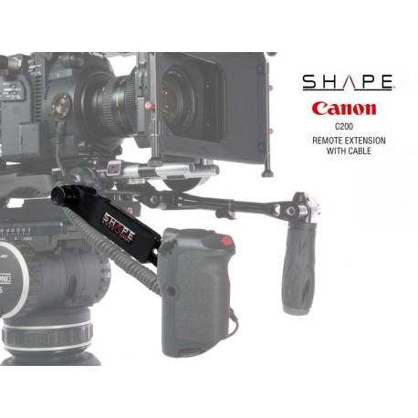 Аксессуары для плечевых упоров - Shape Canon C200 Remote Extension Handle With Cable (C200RH) - быстрый заказ от производителя