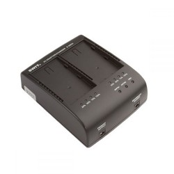 Chargers for Camera Batteries - Swit S-3602I 2-CHx2A DV changer for S-8I50/8I75 charger, JVC SSL-JVC50/75 - quick order from manufacturer