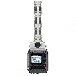 Mikrofoni - Zoom F1 field recorder + shotgun mic F1-SP - perc šodien veikalā un ar piegādi
