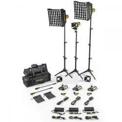 Video LED - Dedolight SLT3-3-BI-B 3 Light Micro LED Kit Bicolor AC Basic - ātri pasūtīt no ražotāja