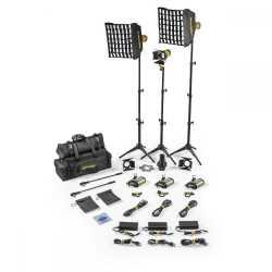 Video LED - Dedolight SLT3-3-BI-S 3 Light Micro LED Kit Bicolor AC Standard - ātri pasūtīt no ražotāja