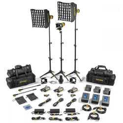 Video LED - Dedolight SLT3-3-BI-M 3 Light MICRO LED Kit BICOLOR AC Master - ātri pasūtīt no ražotāja