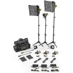 LED прожекторы - Dedolight SLT3-3-D-B 3 Light Micro LED Kit Daylight AC Basic - быстрый заказ от производителя