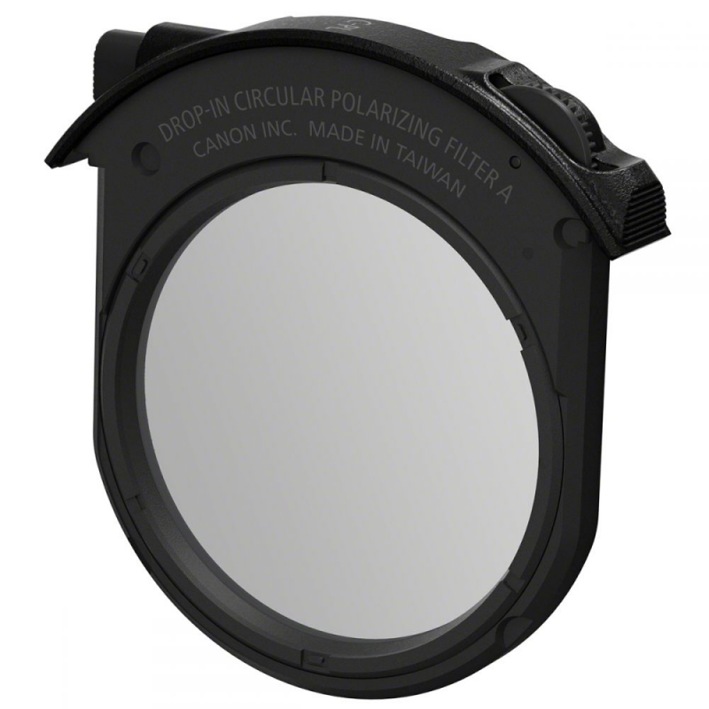 C-PL Canon Bayonet Adapter EF-EOS R with Plug-in Filter