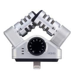 Mikrofoni - Zoom iQ6 Microphone for iPhone, iPad, iPod Touch - ātri pasūtīt no ražotāja