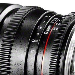 Objektīvi - walimex pro 8/3.8 Fish-Eye II VDSLR for Canon 18709 - ātri pasūtīt no ražotāja