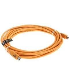 Kabeļi - Tether Tools TetherPro USB-C till USB 2.0 Mini-B 5 Pin 4.6m - perc šodien veikalā un ar piegādi