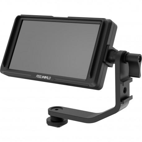 LCD monitori filmēšanai - FEELWORLD F5 5inch HDMI monitor 150g 1920x1080 450cd 4K NP-F970 LP-E6 - ātri pasūtīt no ražotāja