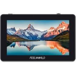 LCD monitori filmēšanai - FEELWORLD F6 Plus 5.5inch HDMI monitor 150g 1920x1080 500cd 3D LUT 4K NP-F970 LP-E6 - perc šodien veikalā un ar piegādi
