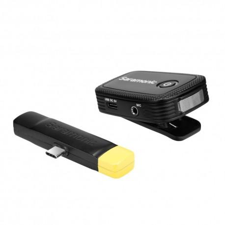 Mikrofoni - Saramonic BLINK 500 B5 (TX+RX UC) 2.4GHZ - perc šodien veikalā un ar piegādi