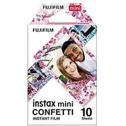 Картриджи для инстакамер - FUJIFILM Colorfilm instax mini confetti (10PK) - купить сегодня в магазине и с доставкой