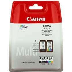 Printeri un piederumi - Canon tintes kasetne PG-545/CL-546 Multipack, krāsu/melna 8287B006 - ātri pasūtīt no ražotāja