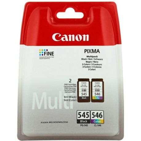 Printers and accessories - Canon ink cartridge PG-545/CL-546 Multipack, color/black - quick order from manufacturer