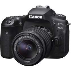 Spoguļkameras - Canon EOS 90D + 18-55mm STM Camera kit - perc šodien veikalā un ar piegādi